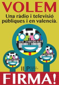 Per una ràdio i televisió públiques i en valencià